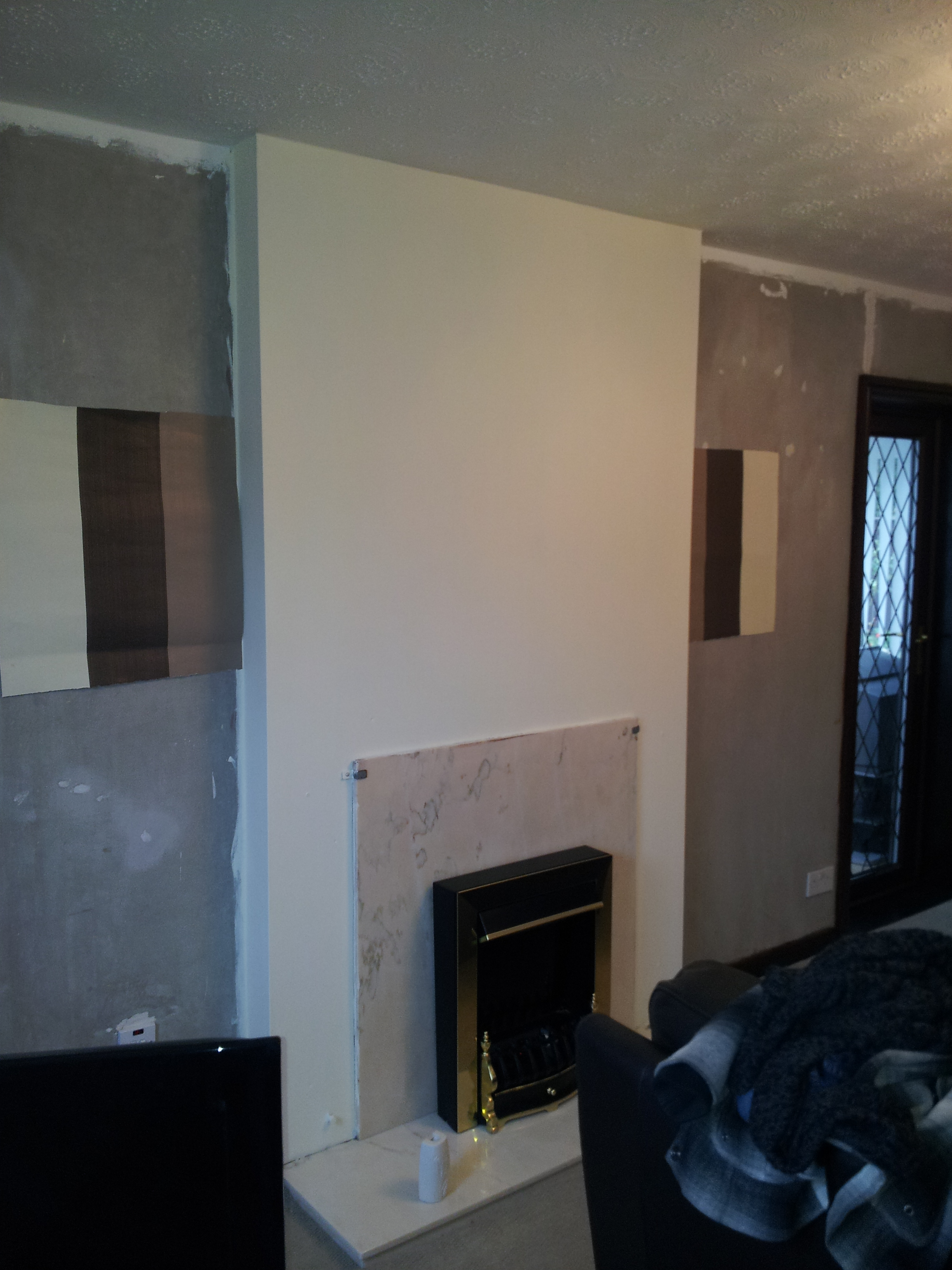 Stripped Feature Wall